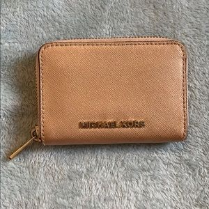 Rose Gold Michael Kors Wallet